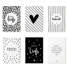Cadeaukaartjes | 6 stuks