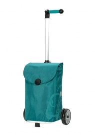ANDERSEN UNUS  met tas PEPE 49L turquoise.