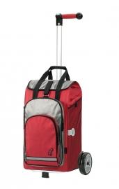ANDERSEN UNUS PLUS met tas HYDRO 56L rood, met rugriemen en koelvak