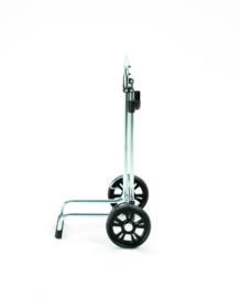 Opvouwbare boodschappenwagen, boodschappentrolley, Scala Shopper - Hera Zilver