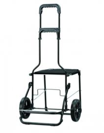 Komfort Shopper met banden, boodschappenwagen met zitje - 198-000-80