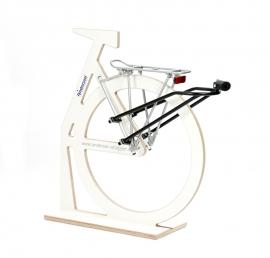 BigEasy, bevestigingsset (met of zonder slot) voor de fiets, geen bagagedrager nodig - R1