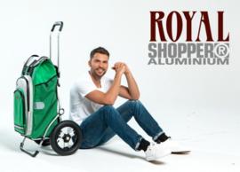 Opvouwbare boodschappenwagen met luchtbanden, Royal Shopper
