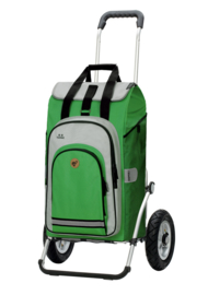 Boodschappenwagen met luchtbanden, Royal Shopper Hydro 2.0 Groen