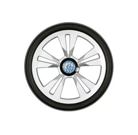 Lichtlopende wielen met een diameter van 20 cm