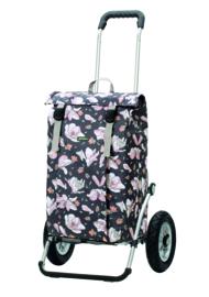 Boodschappenwagen met luchtbanden, Royal Shopper Basil Magnolia Pink