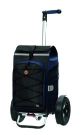 Boodschappenwagen met extra grote luchtbanden, Tura Shopper Fado 2.0 Blauw