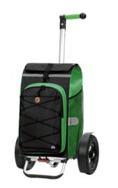 Boodschappenwagen met extra grote luchtbanden, Tura Shopper Fado 2.0 Groen