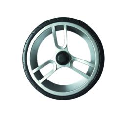 Lichtlopende wielen met een diameter van 17 cm