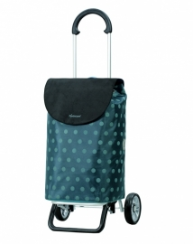 Opvouwbare/inklapbare boodschappenwagen, Scala Shopper Plus Giti Blauw- 133-035-90