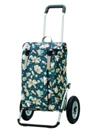 Boodschappenwagen met luchtbanden, Royal Shopper Basil Magnolia Blauw