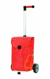 Lichte boodschappenwagen, Unus Shopper Pepe Oranje - 140-050-30