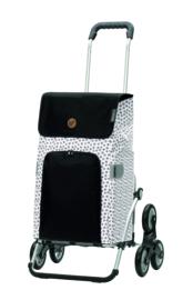 Boodschappenwagen voor de trap, Royal Traploper Shopper Mara Wit