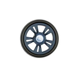 Lichtlopende wielen met een diameter van 15 cm