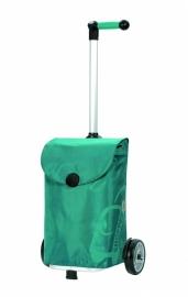 Boodschappenwagen om voor u uit te duwen, Unus Shopper Pepe Turquoise- 140-050-96