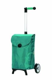 Boodschappenwagen om voor u uit te duwen, Unus Shopper Fun Pepe Turquoise- 121-050-96