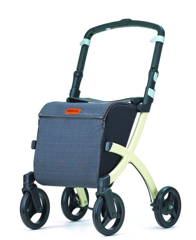 Rollz Flex, boodschappenwagen en rollator in één met 4 wielen