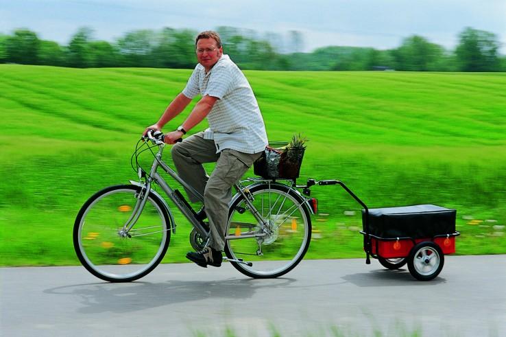 aanhanger voor de fiets
