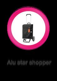 Alu Star, In hoogte verstelbare boodschappenwagen