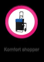 Komfort Shopper, Opvouwbare boodschappenwagen