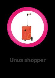 Unus Shopper, boodschappenwagen die u ook kunt duwen