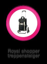 Boodschappenwagen voor de trap, Royal Shopper Treppensteiger