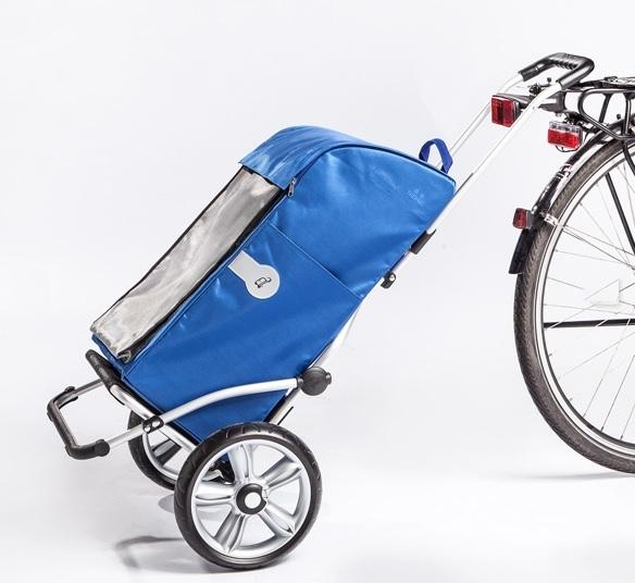 Boodschappentrolley voor achter de fiets