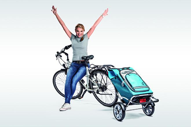 Boodschappenwagen voor achter de fiets