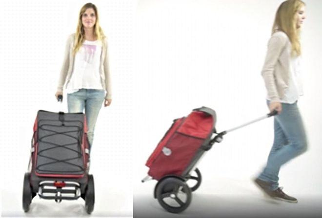 Tura Shopper, boodschappenwagen die u ook kunt duwen