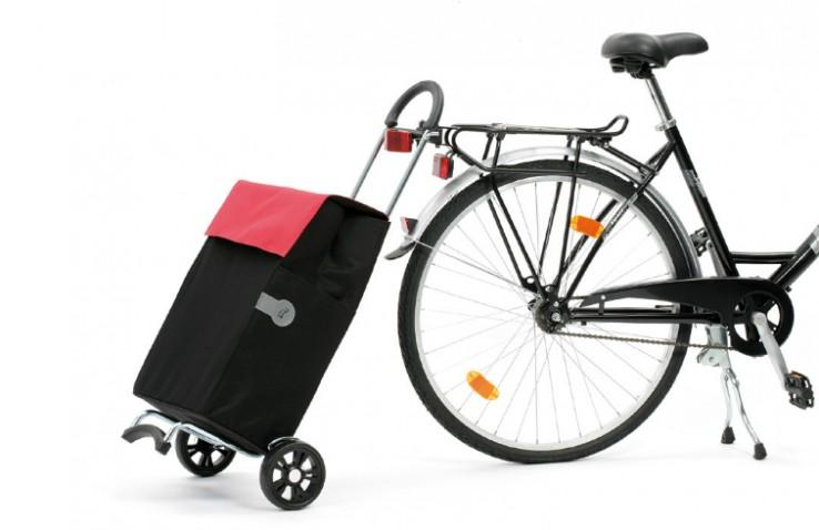 Scala Shopper voor achter de fiets