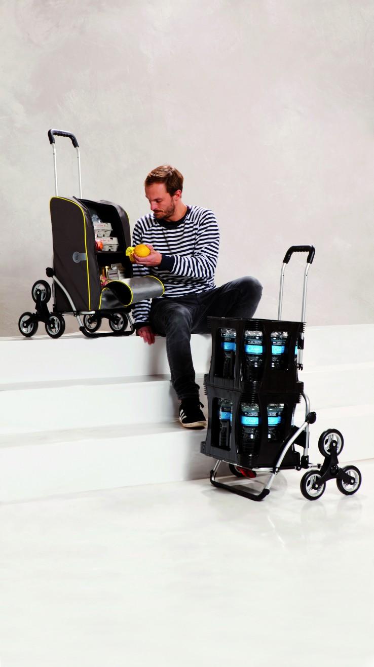 treppensteiger royalplus boodschappenwagen voor achter de fiets van andersen