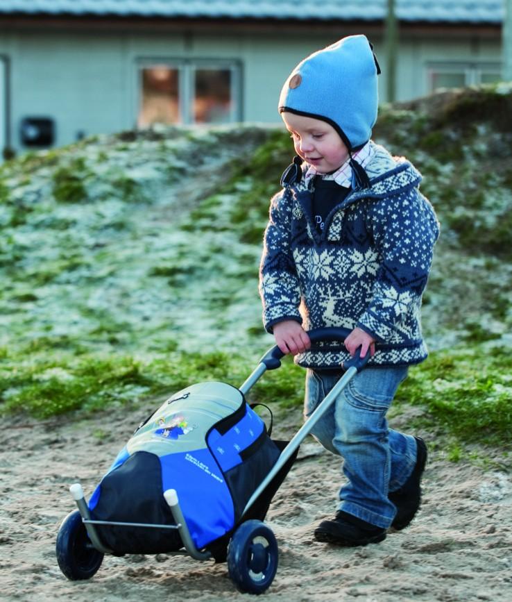 kids boodschappenwagen Jongens Andersen Caddie Shopper schooltas rugzak