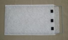 Envelop afm. 32,5x71cm.