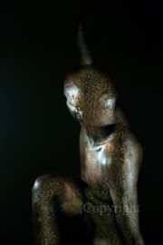 Old Copper Statue (work 5)