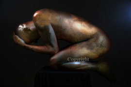 Old Copper Statue (work 9)