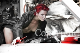 Bikes & Cars serie : Red Head (rood haar).