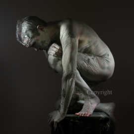 Ancient Statue  - oude standbeeld   (work 2)