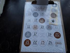 Pap20 Aftelkalender Kerst (Adventkalender)
