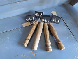 He22 Klossen (oud hout)