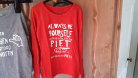 Tekst voor shirt 'always be yourself'