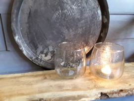 Vin141 Bubbel Windlicht komvorm (13 × 14 cm)