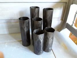 Trend273 Zwart metalen vaas (klein)