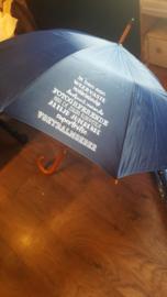 Paraplu  Ik ben een weervaste ..... voetbalmoeder