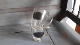 M125 Theeglas met krijtvlak
