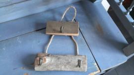 Bon162 Houten hanger met haken
