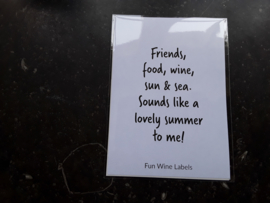 W09 Friends, Food, wine
