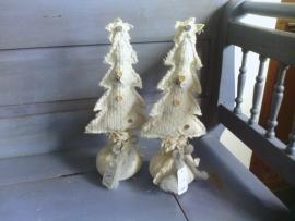 M434 Kerstboom creme *