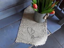 Nino15 Shabby doek Mama (ong 30x45 cm)