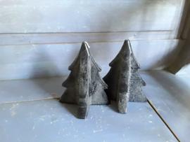 Home126 Kersboomkaars, zwart (15,5 cm)