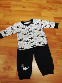 Hallo 505-00025 Pyjama (marine)